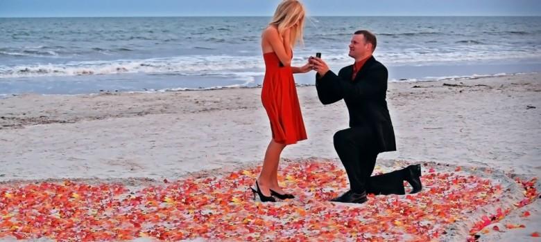 Momente ideale pentru cererea in casatorie